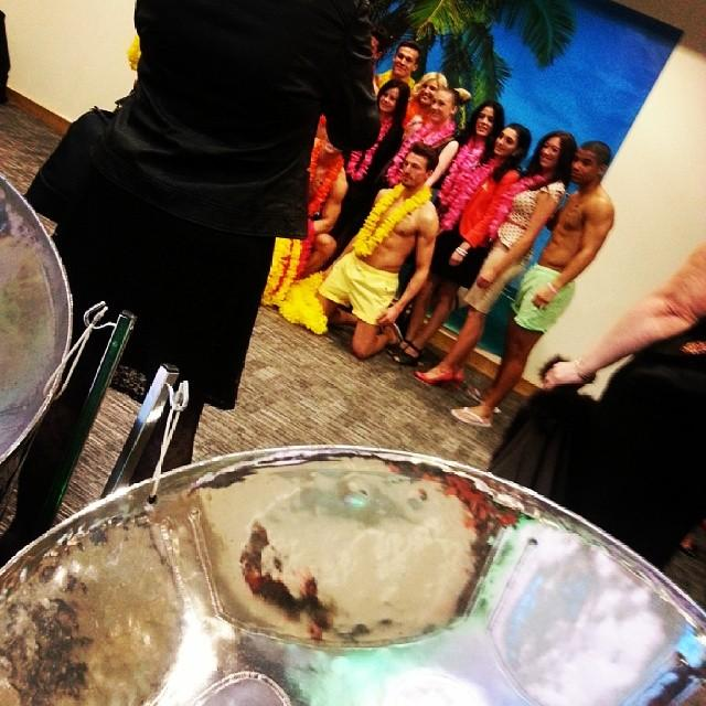 Steel band steel pan steeldrums