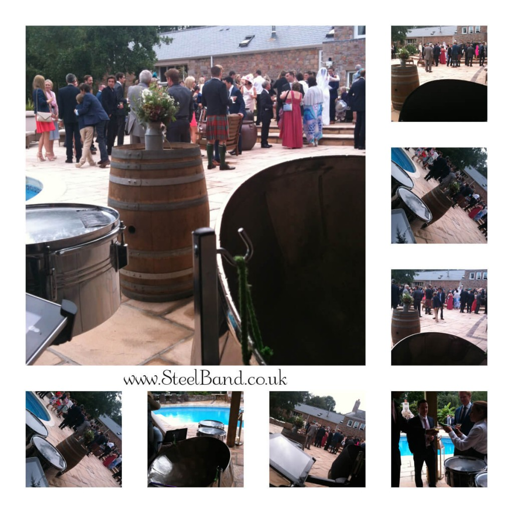 Steelasophical Wedding Steel Band for Jersey Wedding reception