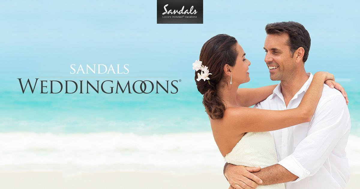 sandals weddingmoons tropical honeymoon packages