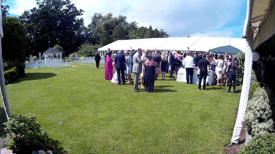 Trunkwell House Wedding Steelasophical steelband 3