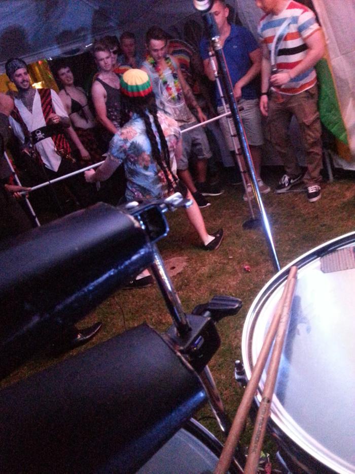 Caribbean Dj Limbo Dance Steel band limbo by design -500-56