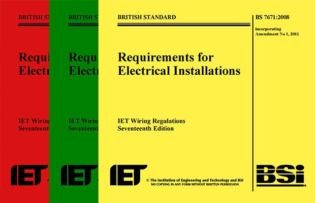 IEE regulations Gary Trotman