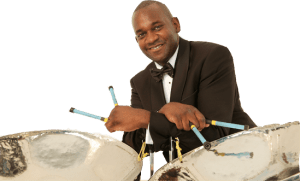 Gary Trotman Steelasophical steel band png