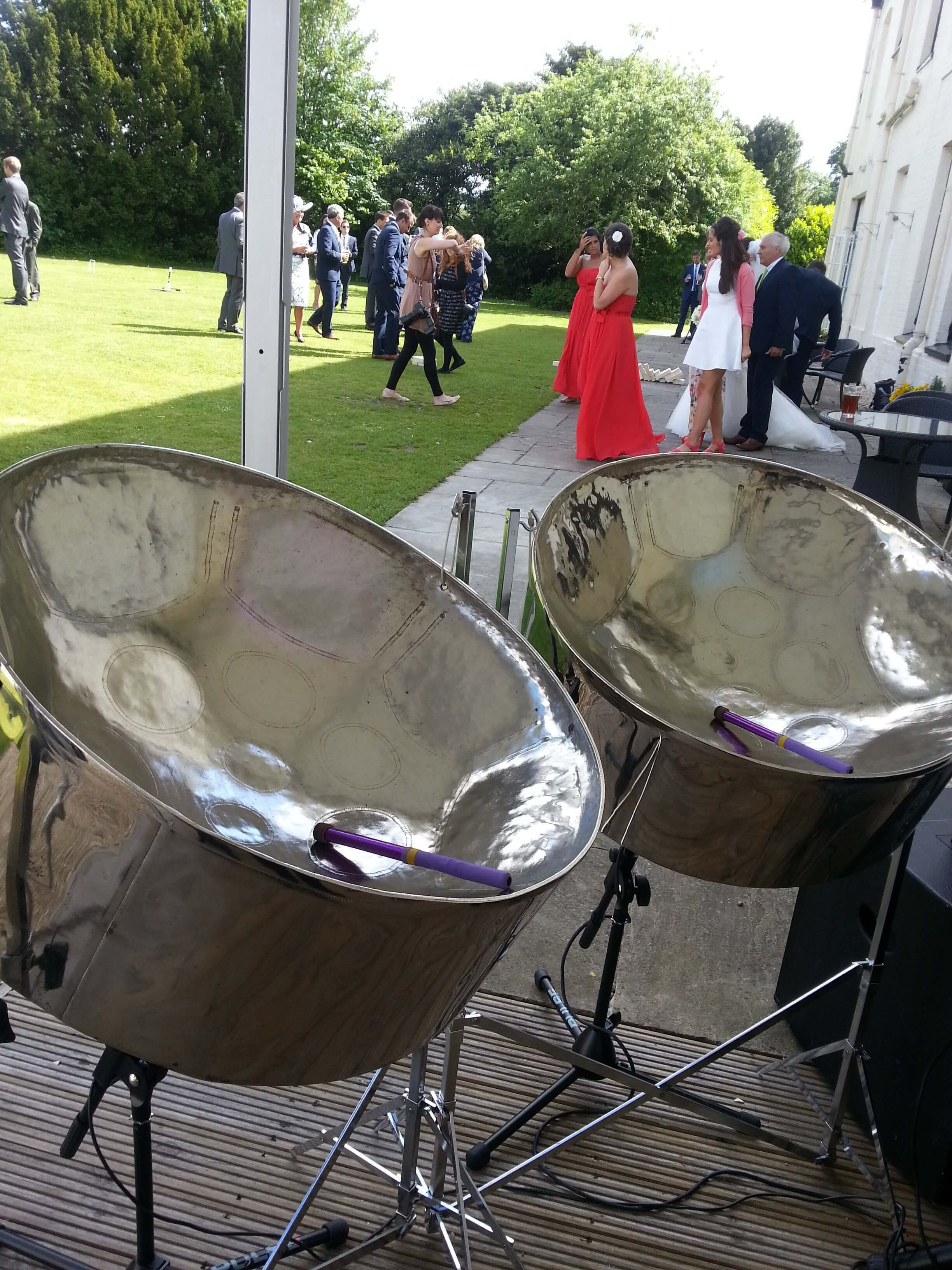 Steelasophical Steel Band For Hire Uk CCTV 00322