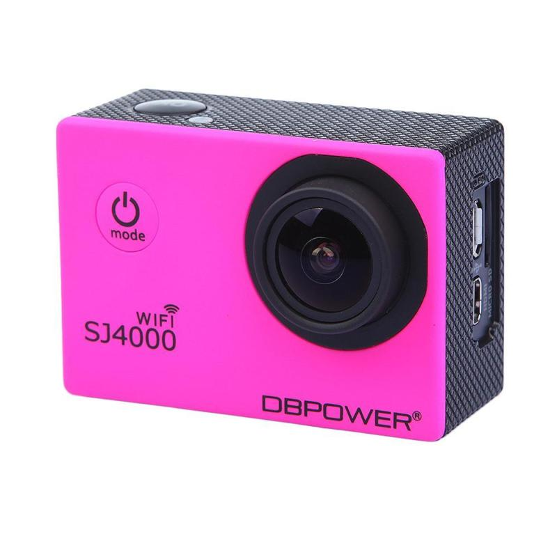 DBPOWER SJ4000 WiFi Camera steelasophicals