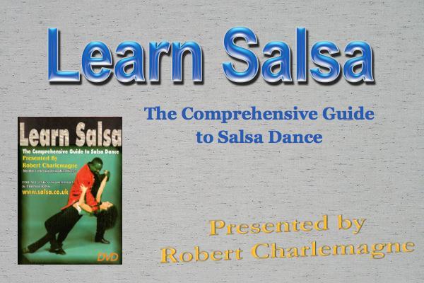 Robert Charlemagne salsa dvd sale